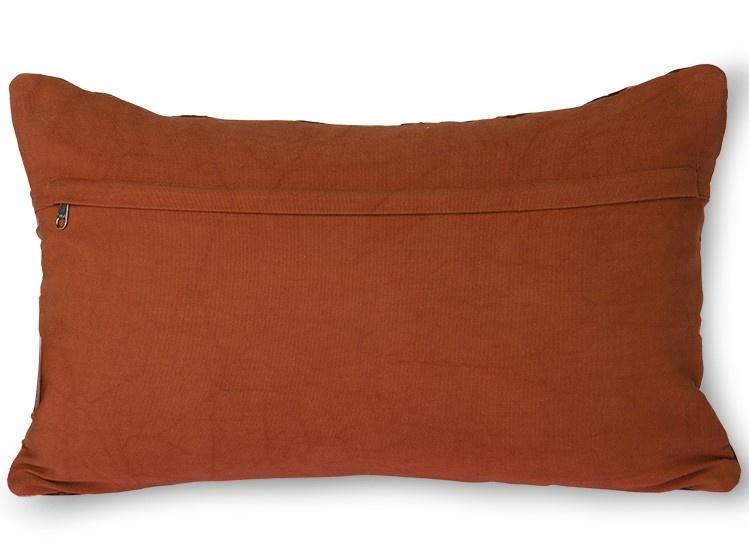 Kussen geometric cushion bordeaux (30x50)-2