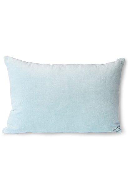 Kussen velvet cushion ice blue (40x60)
