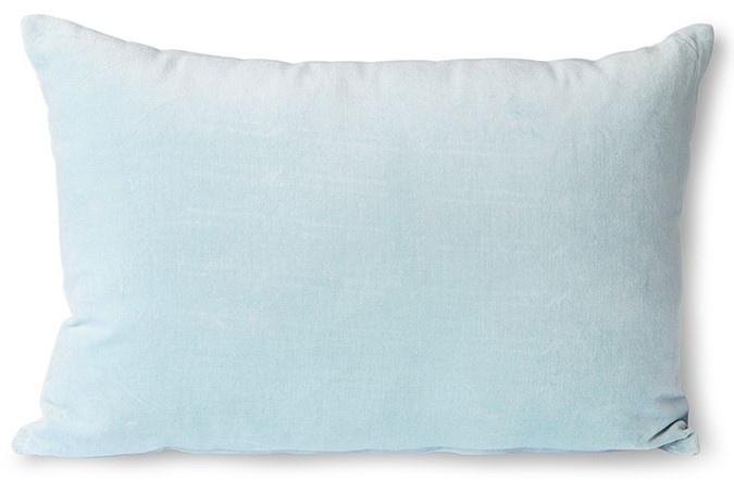 Kussen velvet cushion ice blue (40x60)-1
