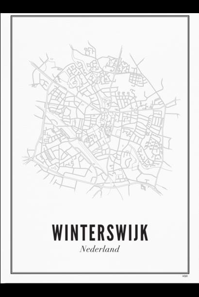 Poster Winterswijk - City Winterswijk - A4 / 21X30cm
