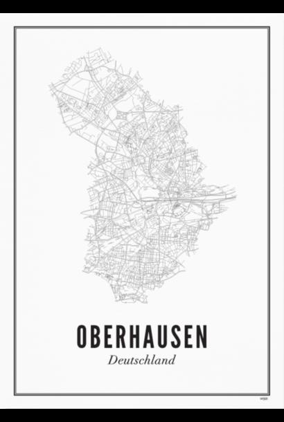 Poster Oberhausen - City Oberhausen - A4 / 21X30cm