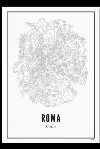 Poster Rome - City Rome - A4 / 21X30cm