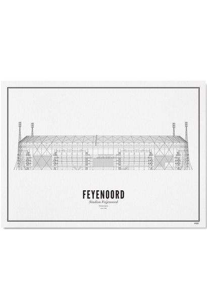 Poster Rotterdam- Feyenoord- A4 / 21X30cm