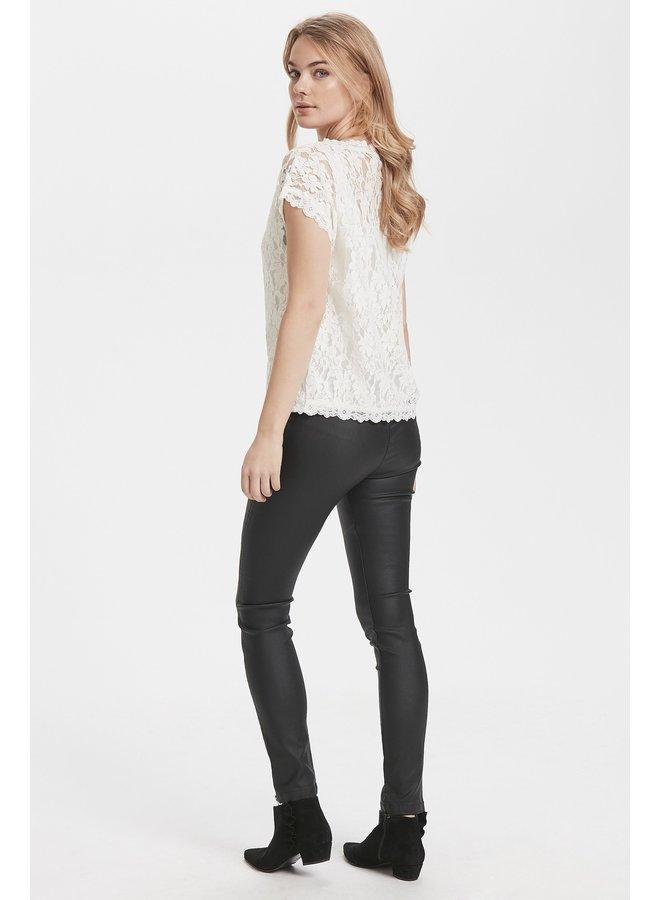 Top Vivi lace blouse chalk