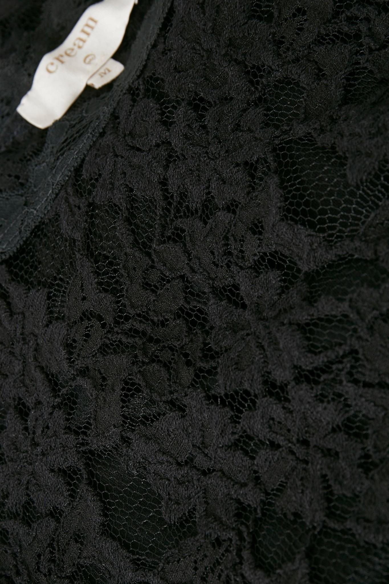 Top Vivi lace blouse pitch black-3