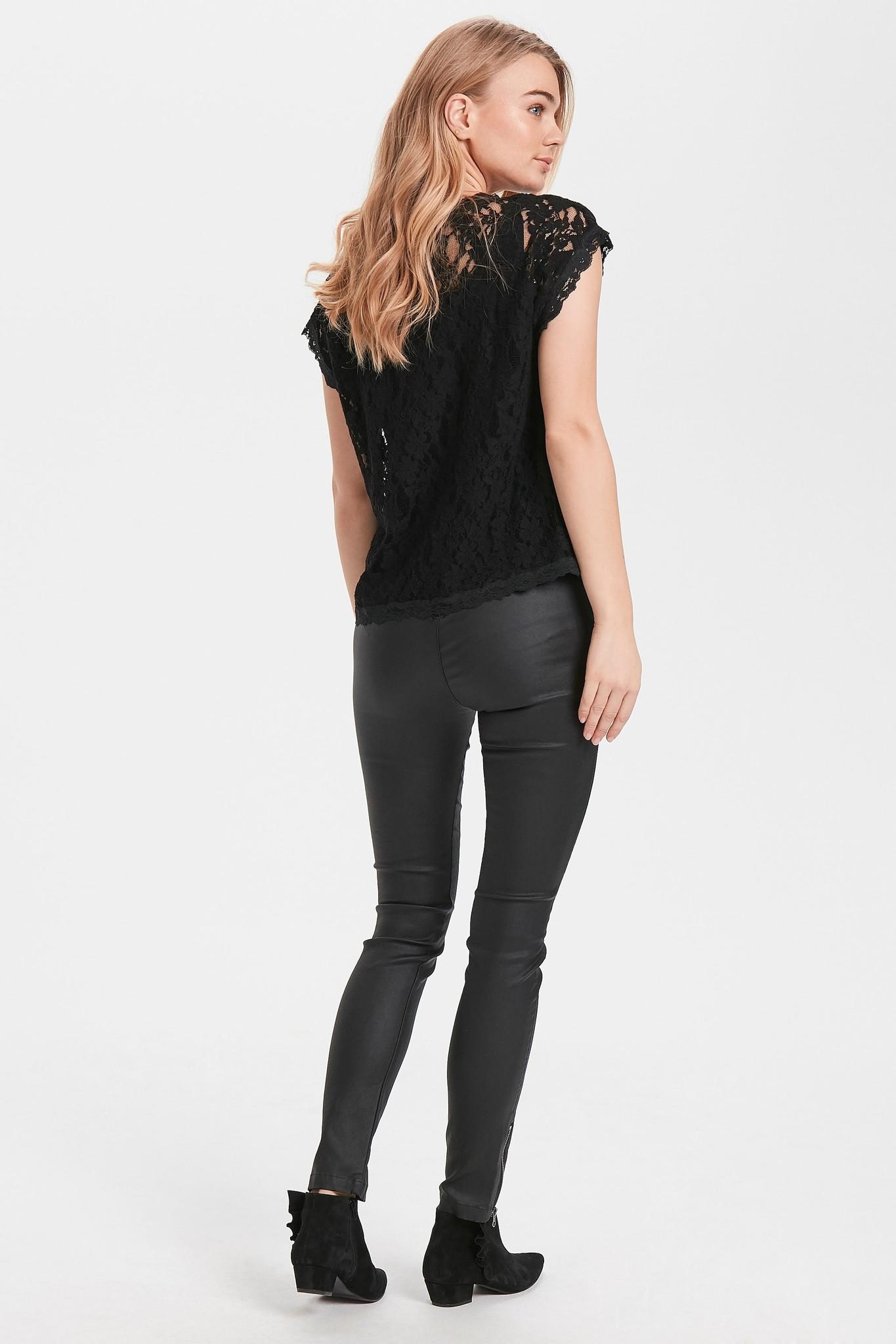 Top Vivi lace blouse pitch black-5