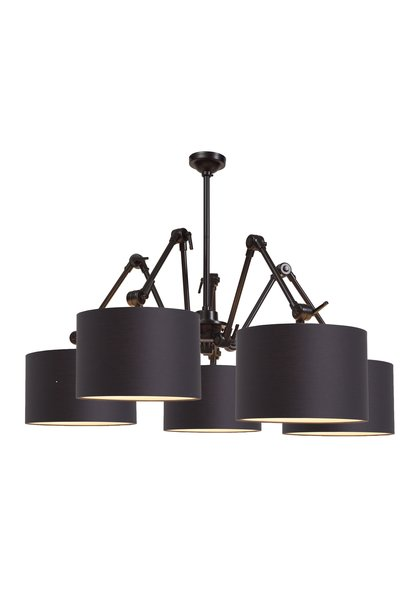 Hanglamp Amsterdam Chandelier black