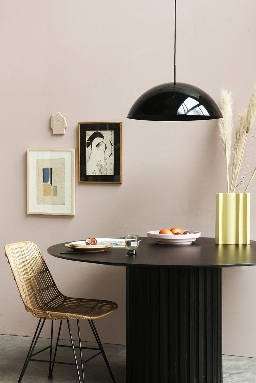 Hanglamp acrylic cupola pendant lamp black-3