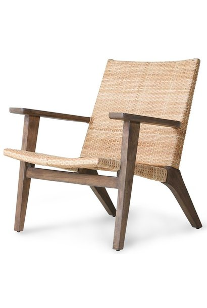 Stoel woven lounge chair