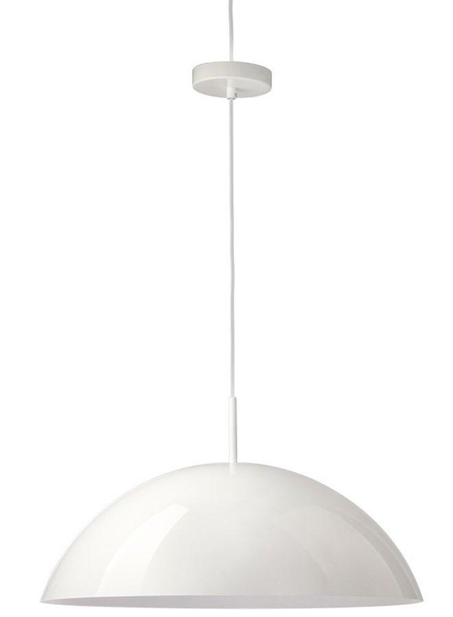 Hanglamp acrylic cupola pendant lamp white