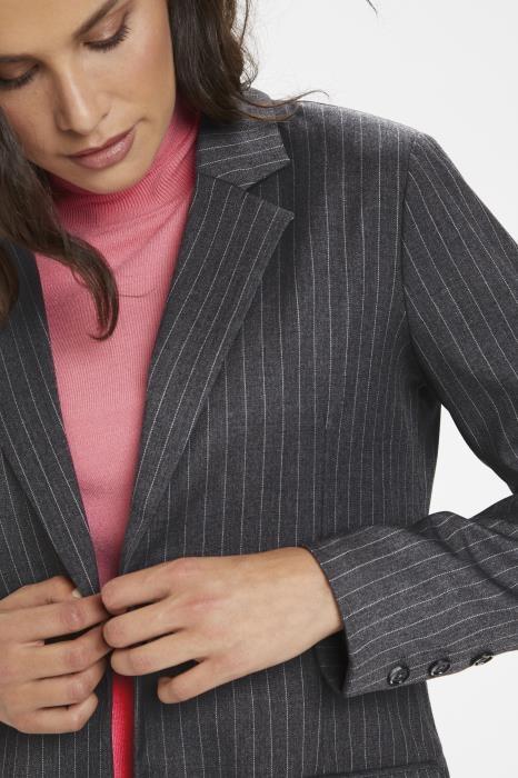Blazer KAmarlin Grey pinstripe-3
