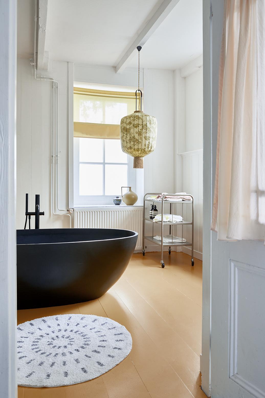 Badmat round bath mat swirl 80cm-2