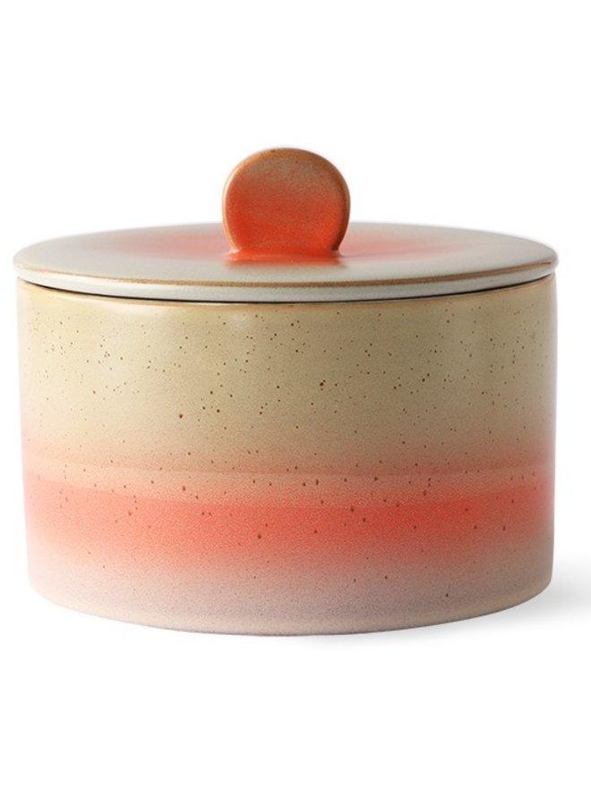 Koektrommel ceramic 70's cookie jar: venus