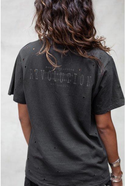 T-shirt Revolution dark grey