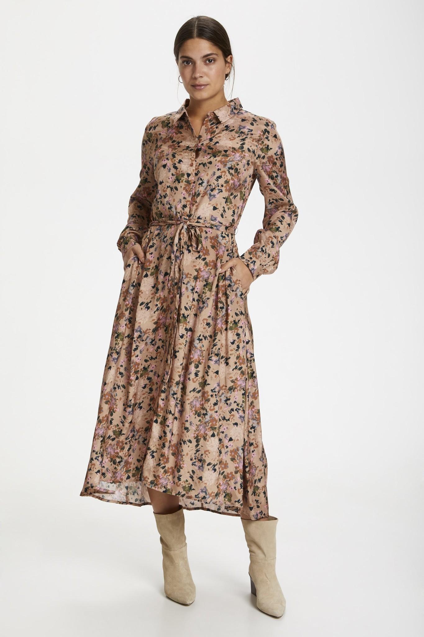 Jurk KAelina shirt dress nomad watercolor-6