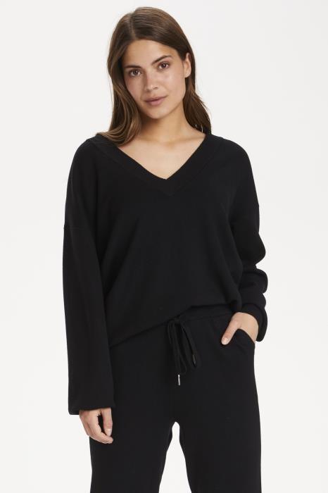 Trui KAkitlyn knit pullover black deep-2