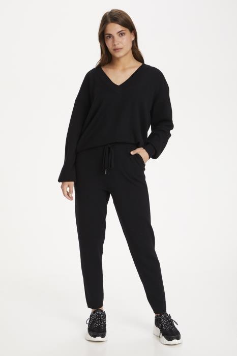Trui KAkitlyn knit pullover black deep-6