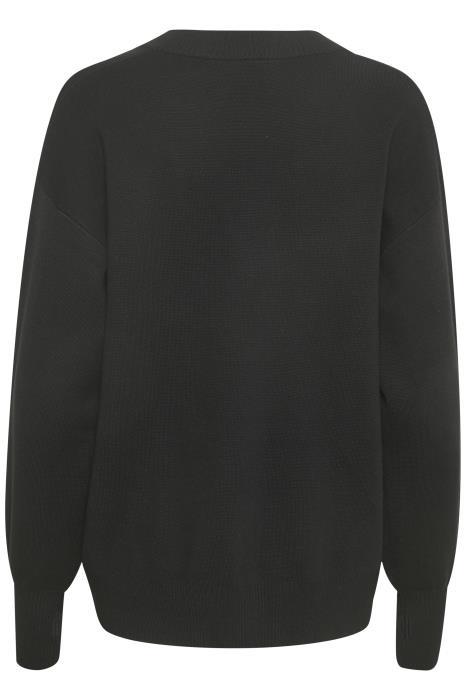 Trui KAkitlyn knit pullover black deep-5