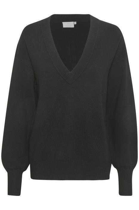 Trui KAkitlyn knit pullover black deep-4