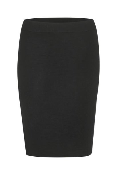 Rok KAkitlyn knit skirt black deep