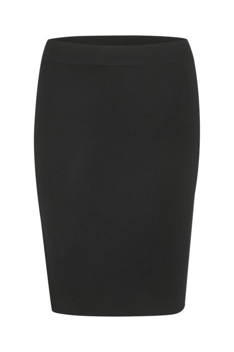 Rok KAkitlyn knit skirt black deep-1