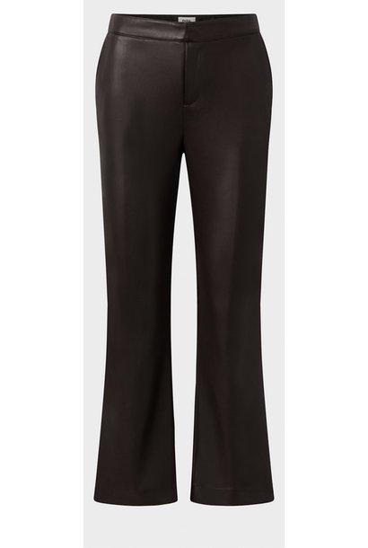 Broek PU Cornelia trousers Dark brown Hickory