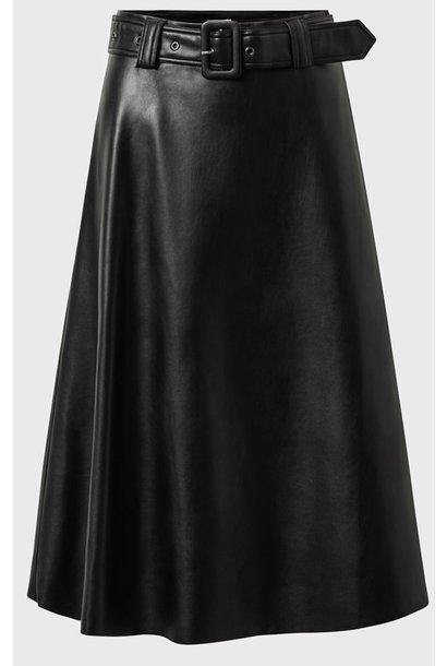 Rok PU Nila Skirt Black