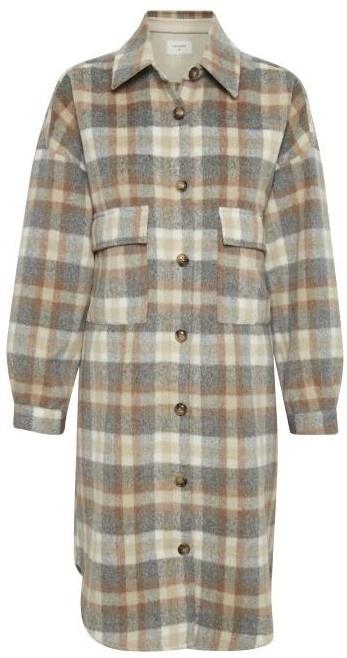 Jas TaraCR oz shirt jacket feather gray che-2