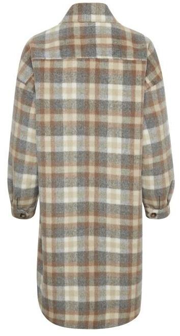 Jas TaraCR oz shirt jacket feather gray che-4