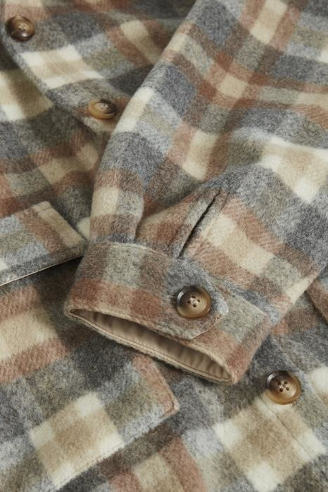 Jas TaraCR oz shirt jacket feather gray che-6