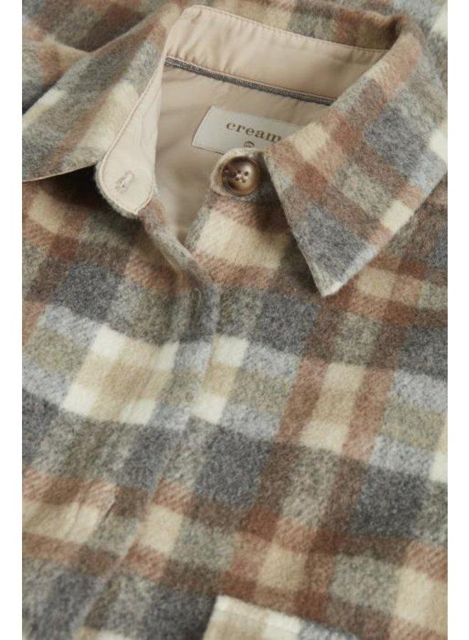 Jas TaraCR oz shirt jacket feather gray che