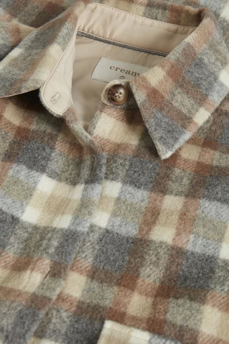 Jas TaraCR oz shirt jacket feather gray che-5
