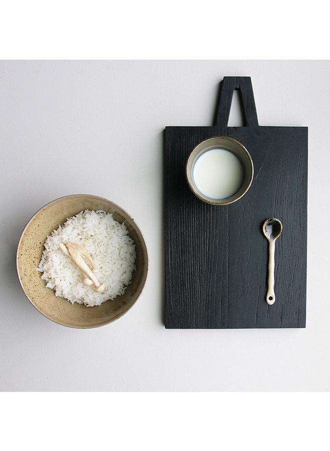 Kom kyoto ceramics: japanese noodle bowls olive