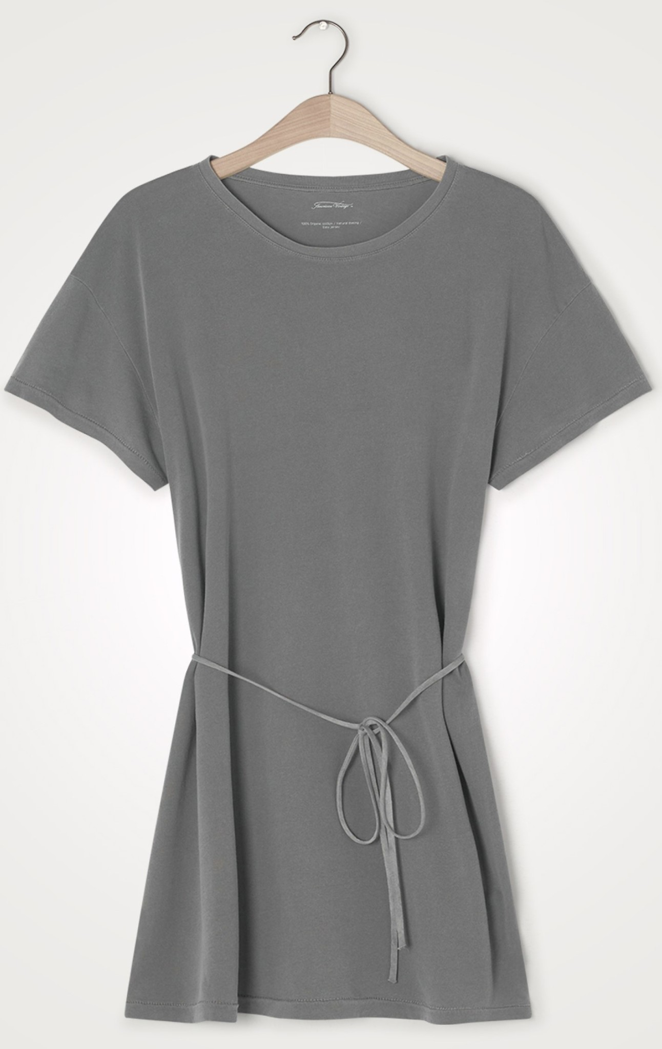 T-shirt long Vegiflower metal-1