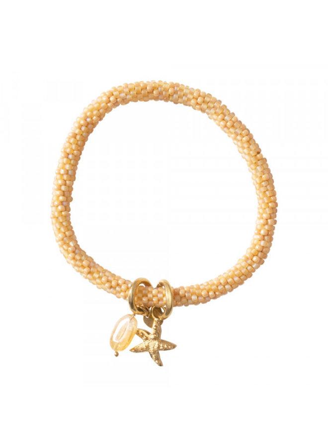 Armband Jacky multi color citrine gold bracelet
