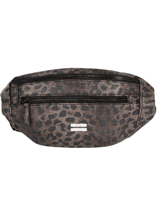 Tas fanny pack leopard camo desert taupe