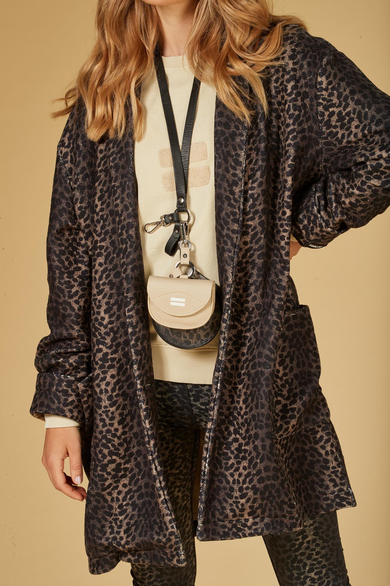 Tas keychain bag leopard camo desert taupe-5