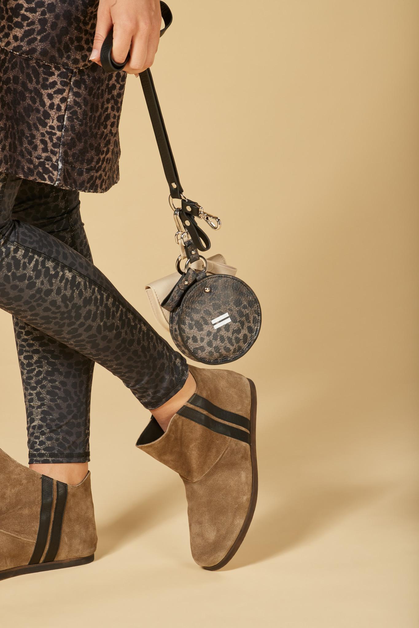 Tas keychain bag leopard camo desert taupe-3