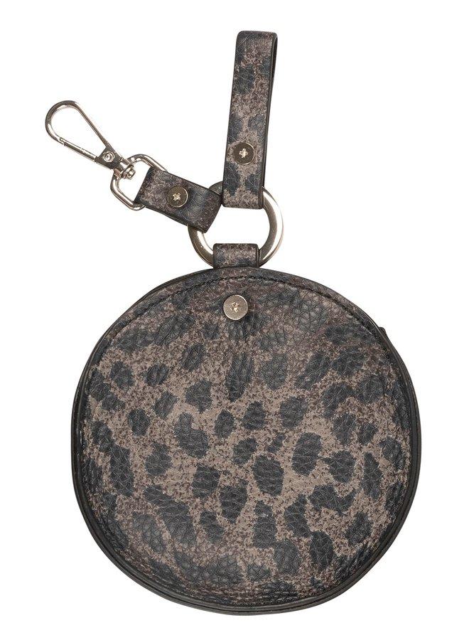 Tas keychain bag leopard camo desert taupe