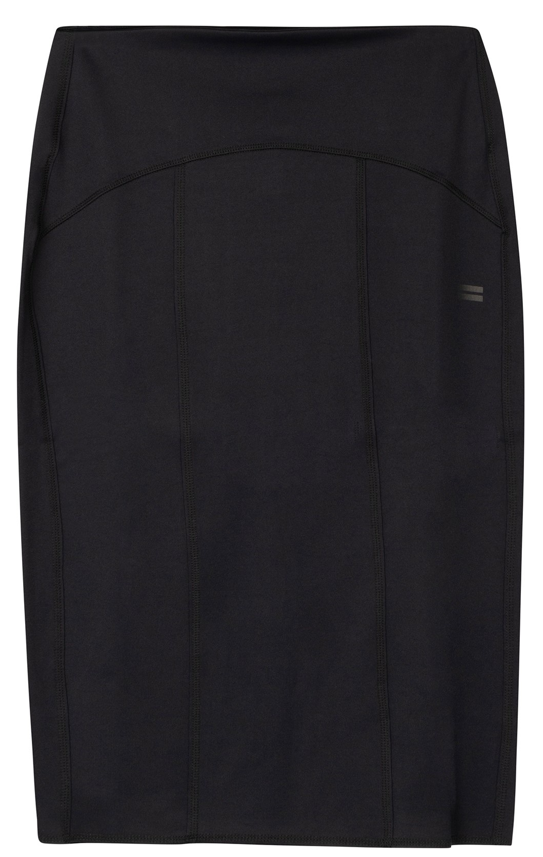 Rok scuba pencil skirt black-1