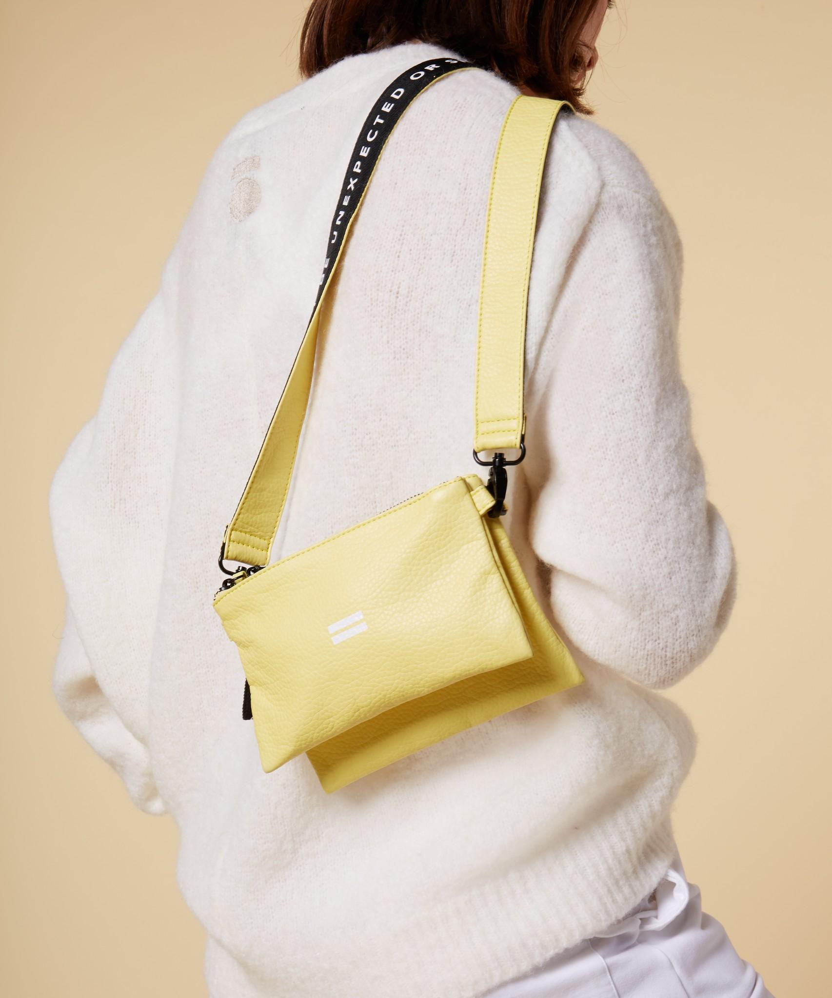Tas mini pouch uni lemon-3