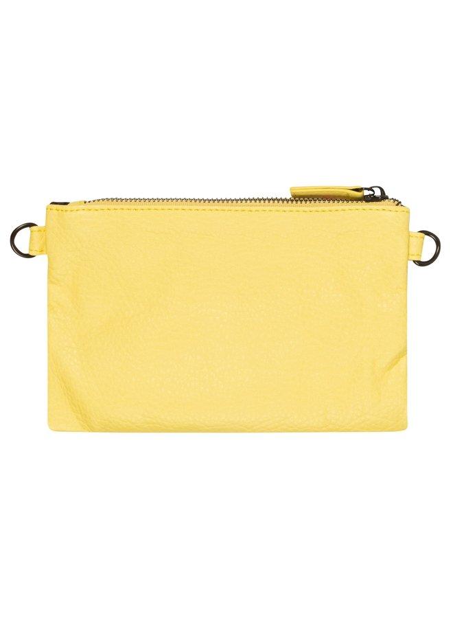 Tas mini pouch uni lemon