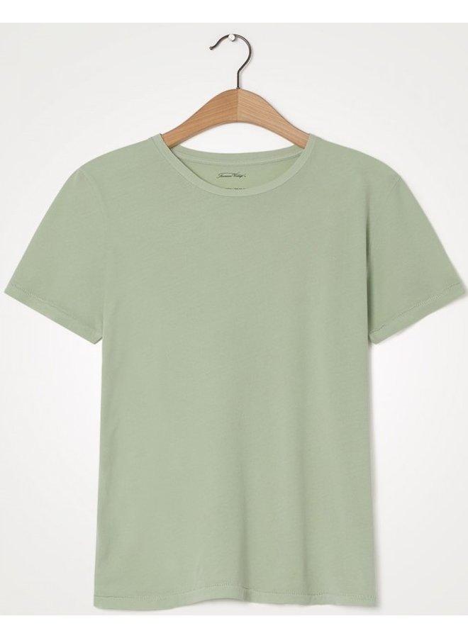 T-shirt Vegiflower vert amande