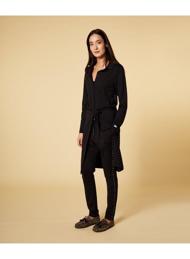 Jurk shirt dress black