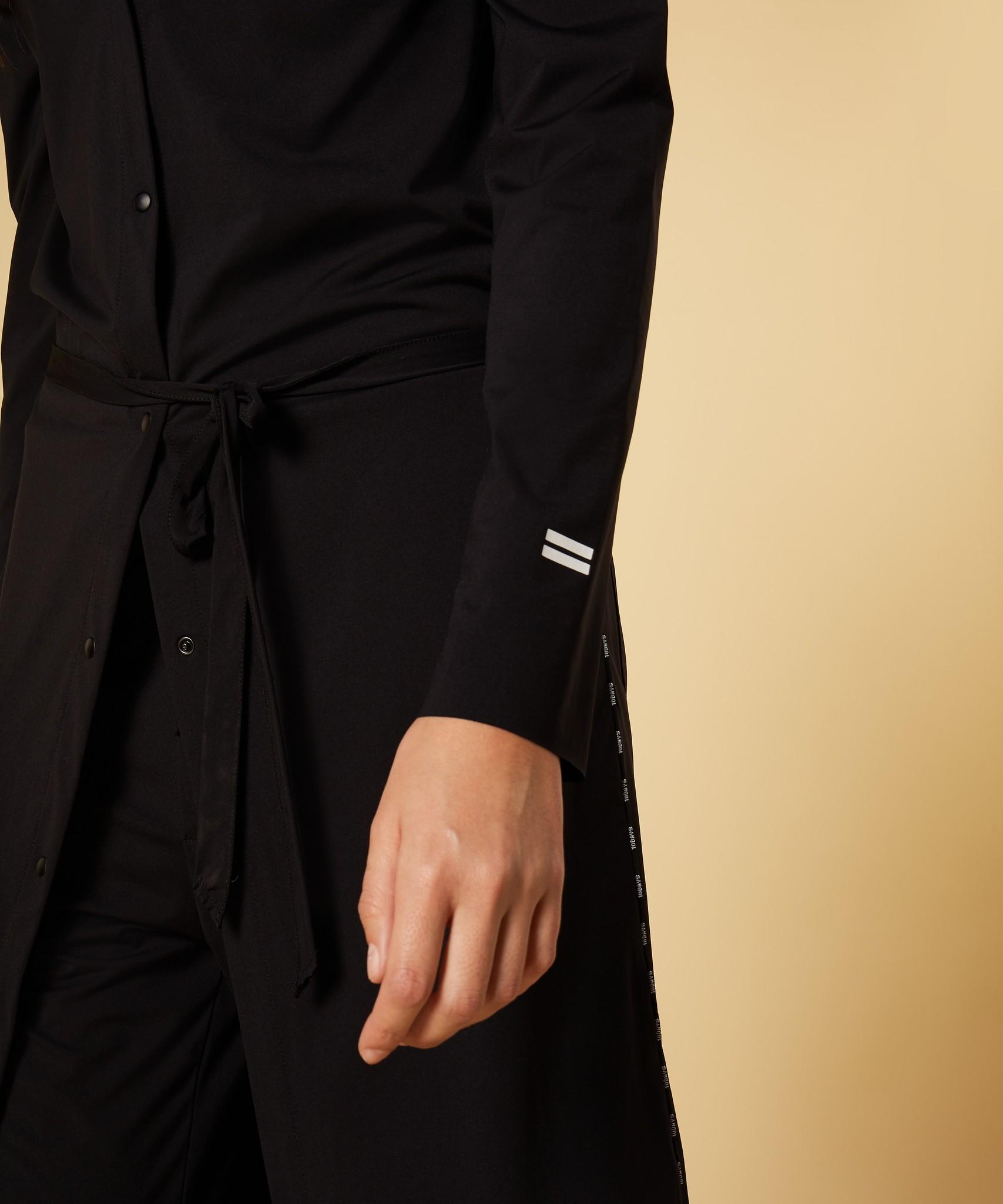 Jurk shirt dress black-6