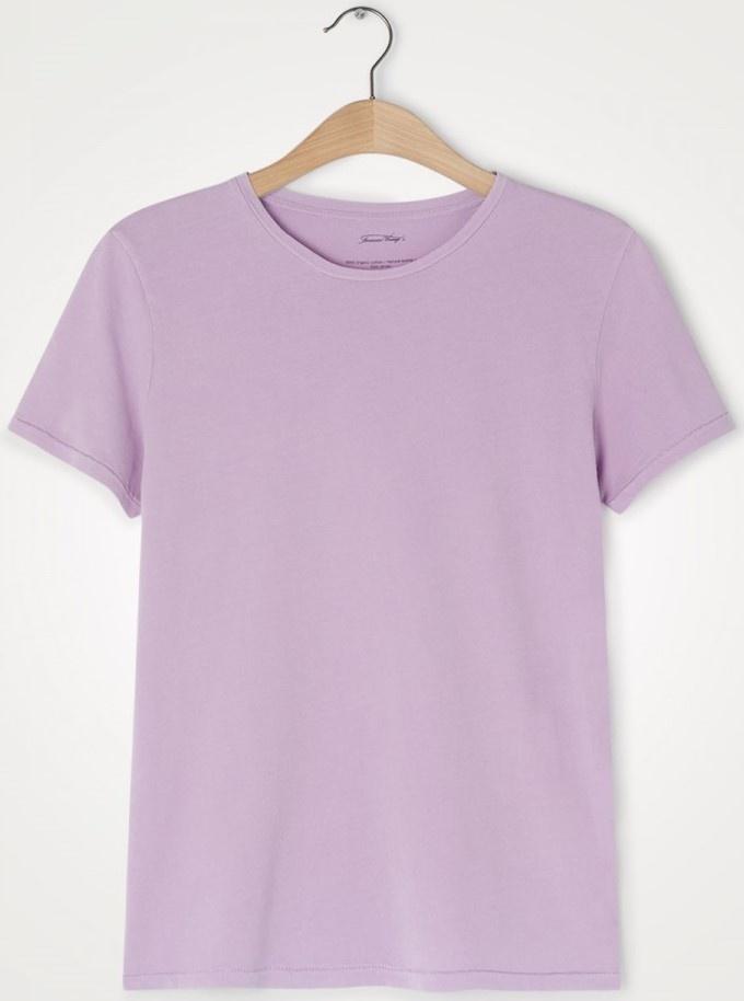 T-shirt Vegiflower parme-2