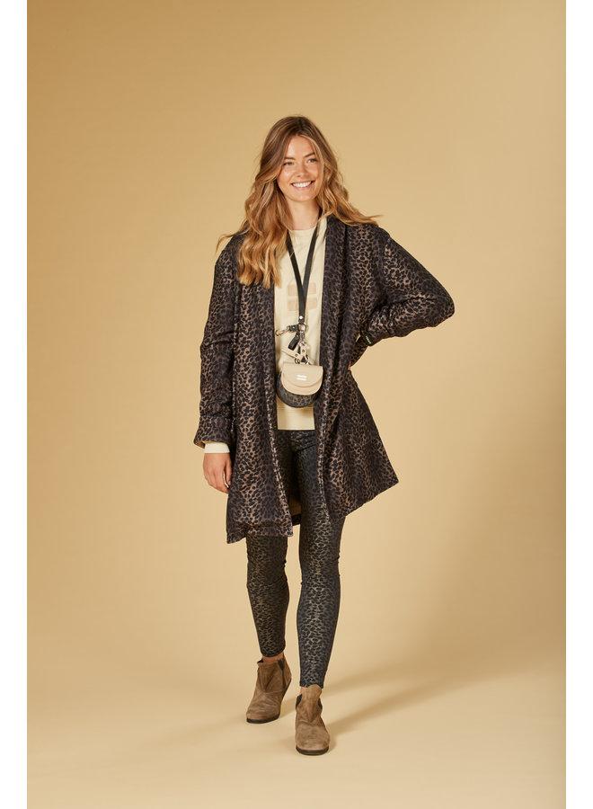 Jas coat leopard camo desert taupe
