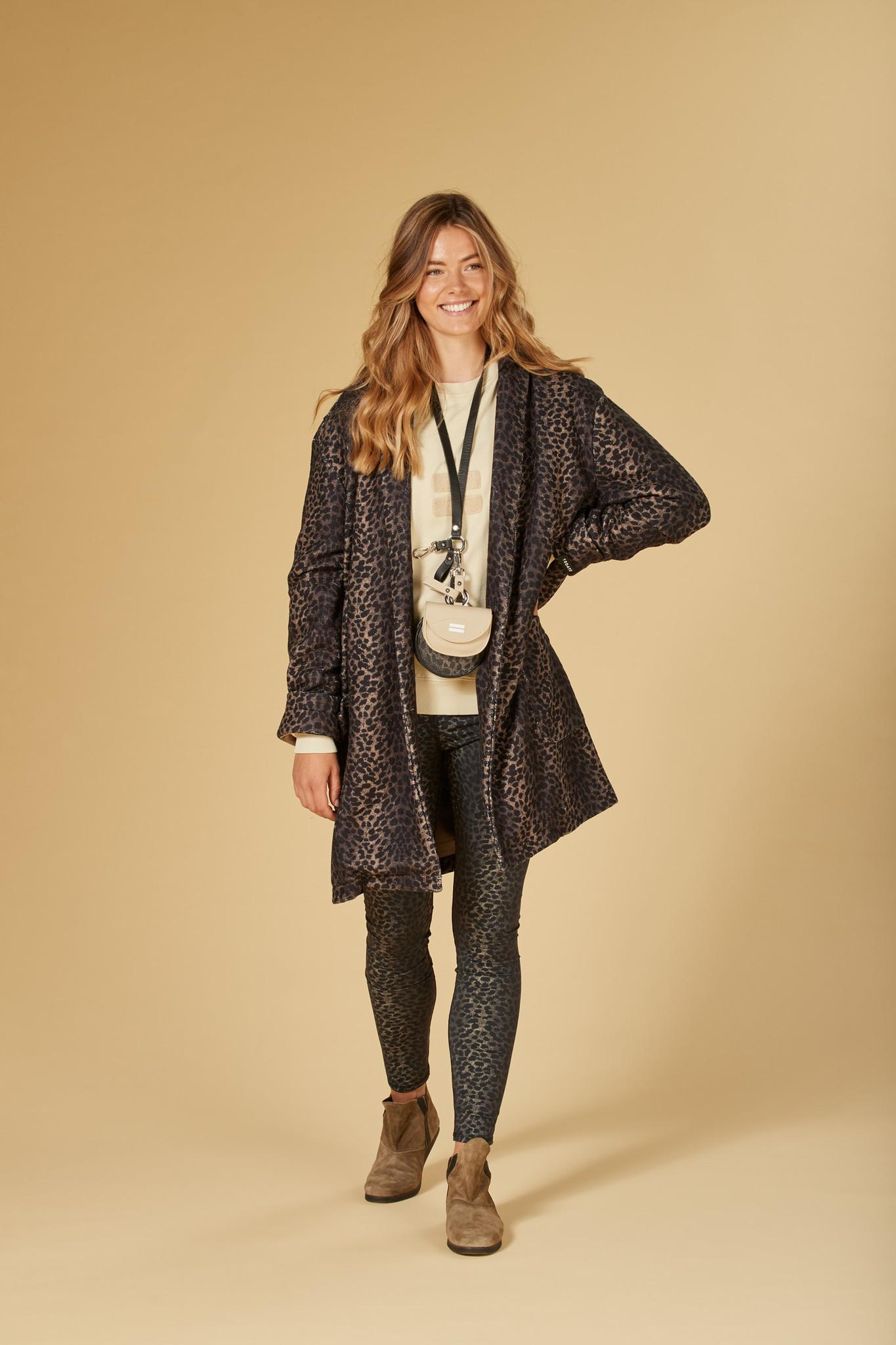 Jas coat leopard camo desert taupe-5