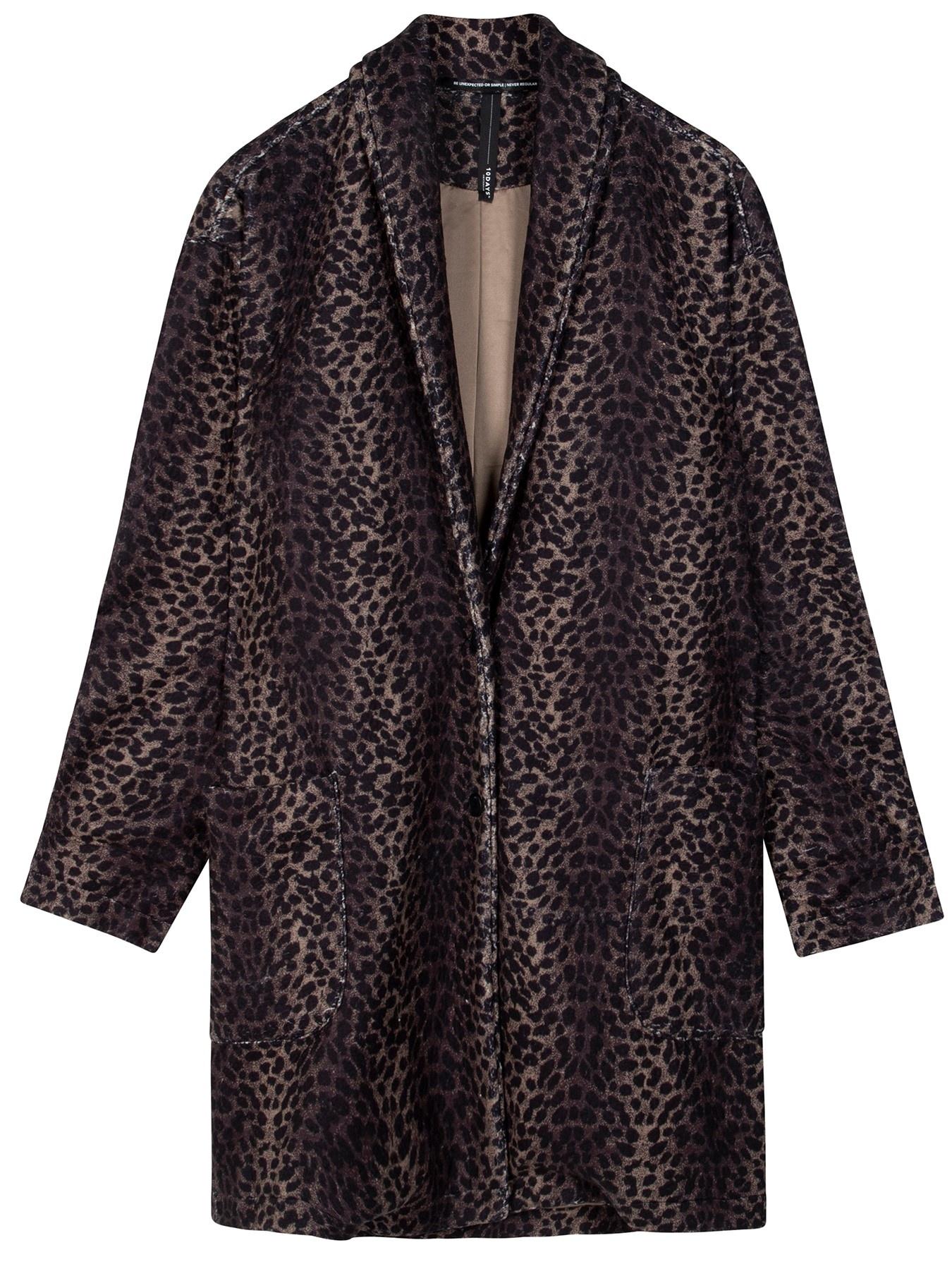 Jas coat leopard camo desert taupe-2