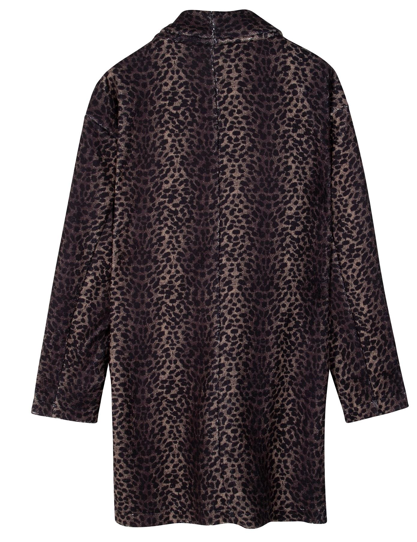 Jas coat leopard camo desert taupe-4
